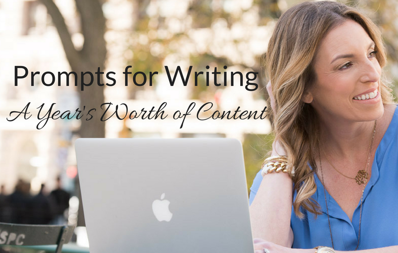 Create Ideas for a Year's Worth of Content