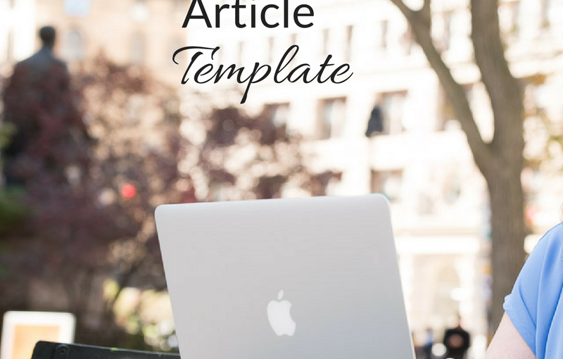 Article Template (for Service-Based Content)